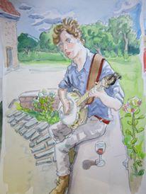 A lovely portratit by my friend Jimmy