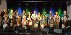 Me as student! Learning Bluegrass Banjo with Bill Evans at Sorefingers Summer School