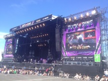 Playing Rock am Ring with Rea Garvey