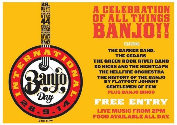 International Banjo Day!