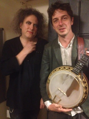 I played banjo on Love Cats with Rob Smith from the Cure!