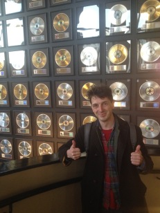 Celebrating Rea Garvey's record going multi-platinum at the Nashville Country Music Hall of Fame