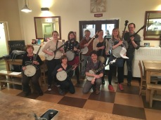 Banjo workshop at Cecil Sharp House