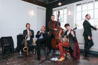 Playing jazz with Ewan Bleach, Rich Bennett and Graham Hughes