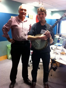 Interview with Dan Damon from the BBC about Earl Scruggs