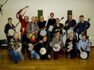 Early Banjo workshop students
